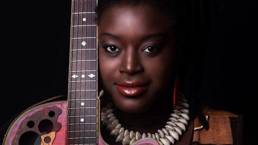 La cantante senegalesa Kya Loum.