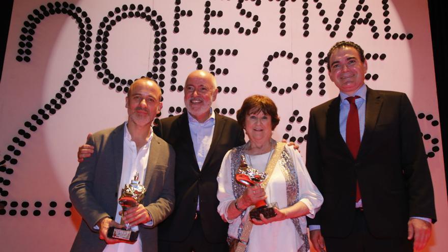 Javier Gutiérrez y Julieta Serrano en la gala inaugural del Festival de Cine de l'Alfàs del Pi