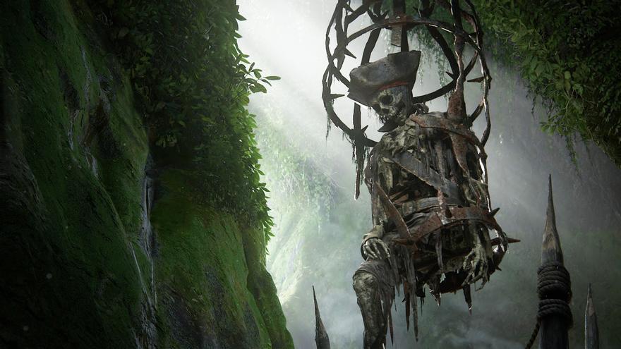 Pantalla de inicio de 'Uncharted 4: el desenlace del ladrón'