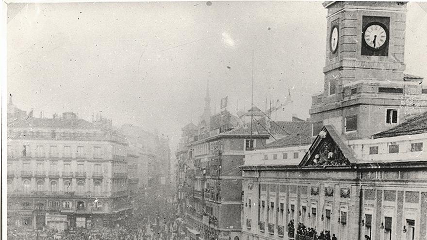 Proclamación de la República en Sol, febrero 1931