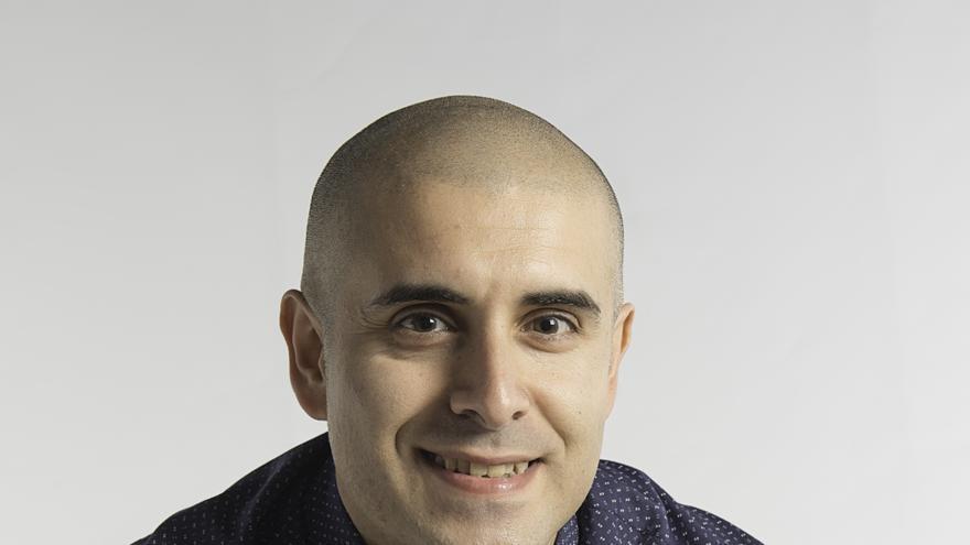 El escritor saucero Rayko Lorenzo.