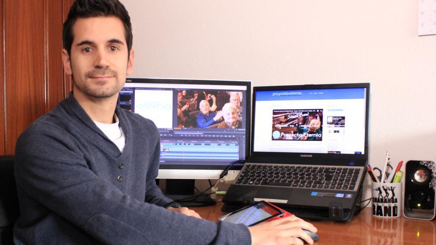 Christopher Sánchez, autor del Proyecto Eternia