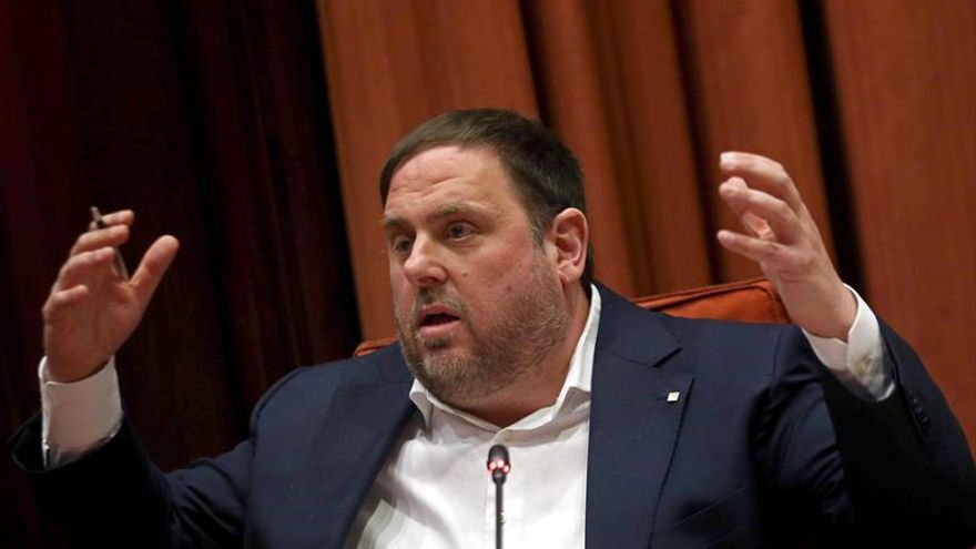 Junqueras niega partida opaca para referendo o ilegalidades en datos fiscales