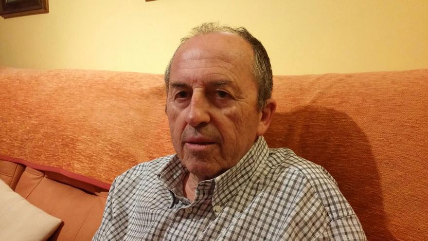 Leopoldo Pelayo, jubilado portavoz de la Coordinadora Estatal en Defensa del Sistema Público de Pensiones.