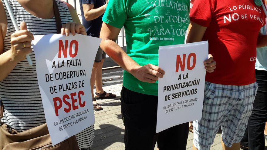 Los trabajadores laborales de Educación reclaman mejores condiciones de trabajo
