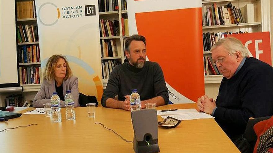 El hispanista Paul Preston, en la London School of Economics