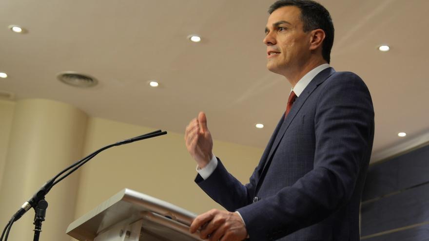 """Sánchez asegura que no va a """"vetar a ninguna fuerza de cambio"""", ni a su """"izquierda ni derecha"""""""