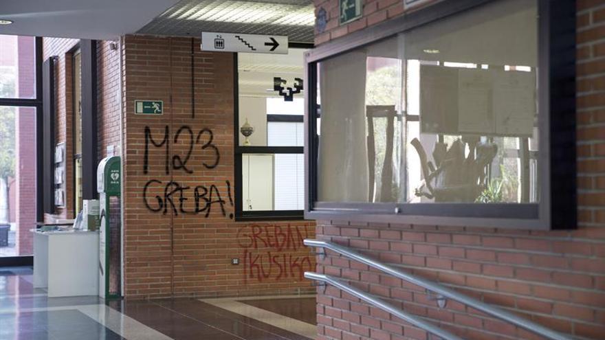 La Conferencia de Rectores condena los ataques en la Universidad del País Vasco