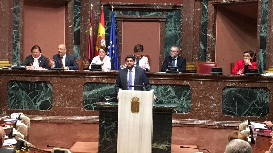 El candidato del PP en Murcia defiende reparación de daños para cargos de partidos cuando se archive proceso