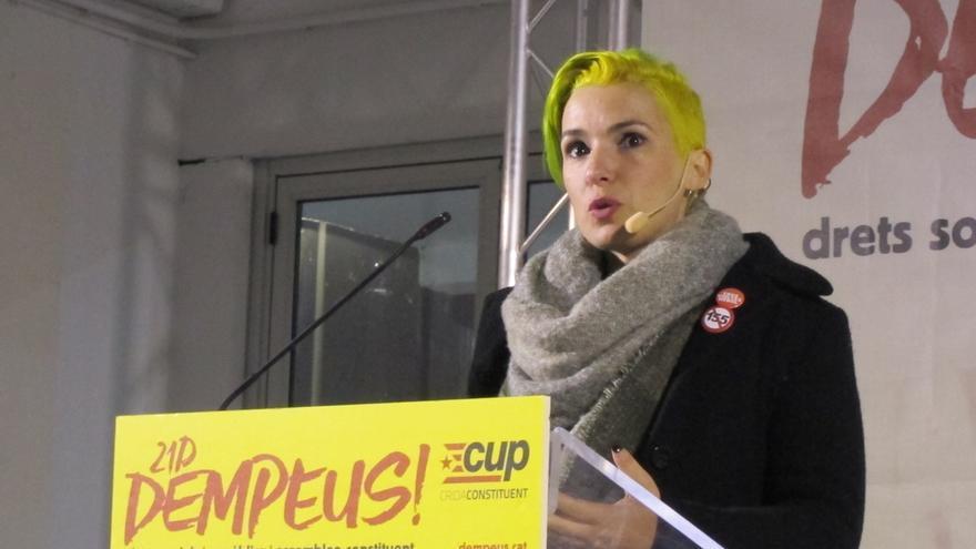 """Bel Olid (CUP) avisa que """"volver al autonomismo no es una opción"""""""