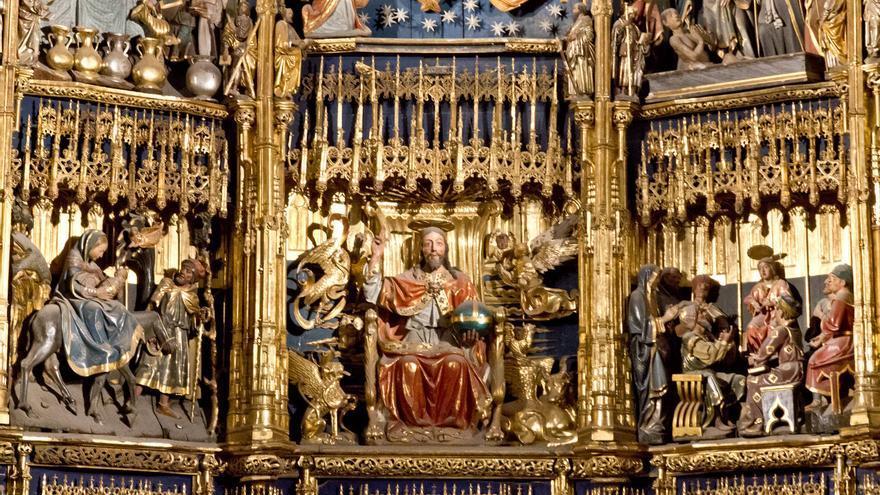 Retablo de la Catedral de San Salvador de Oviedo.