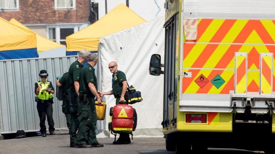 La Policía británica dice que el Novichok estaba en un bote en casa de la víctima