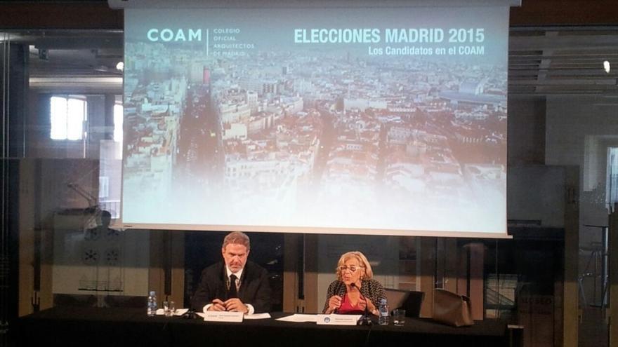 """Carmena sobre Aguirre: """"No se puede confundir la simpatía y la espontaneidad con la descalificación"""""""