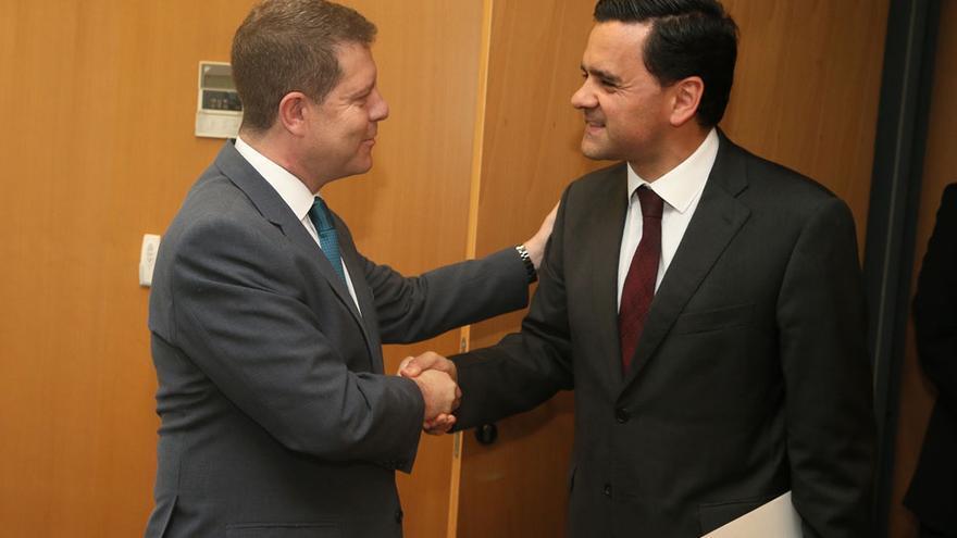 Reunión de García-Page con el ministro de infraestructuras portugués