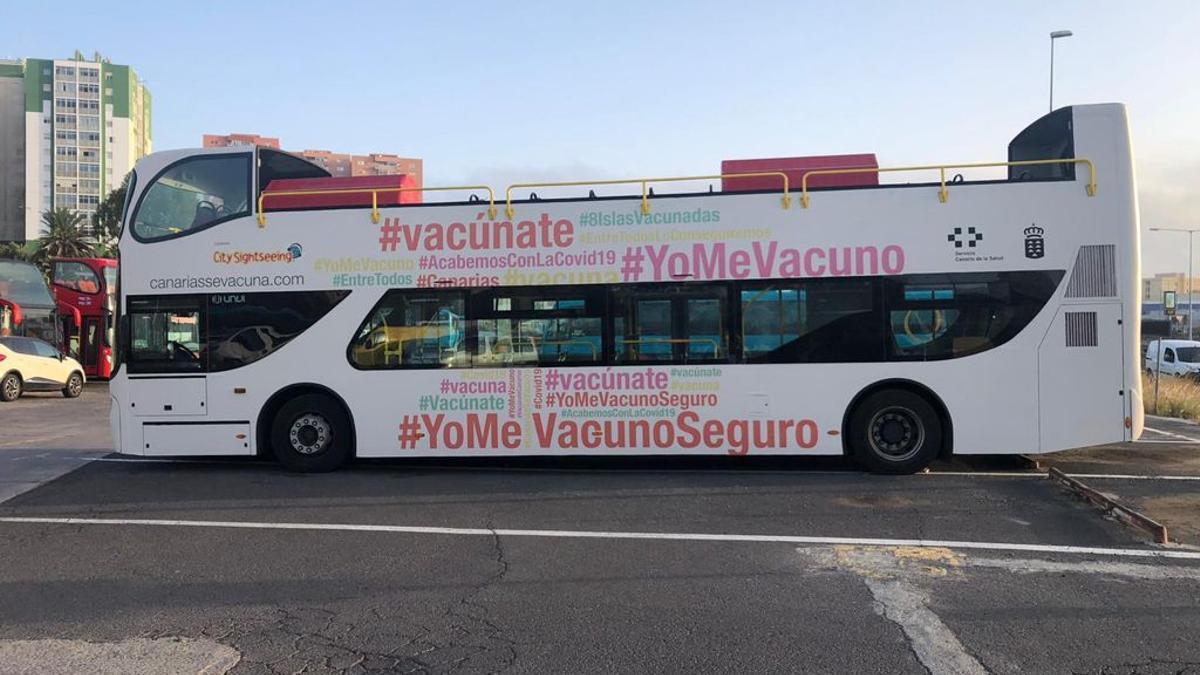 Una de las 'vacuguaguas' del Servicio Canario de Salud