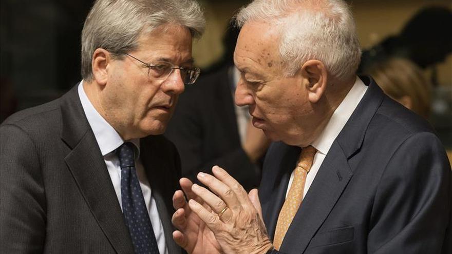 """El ministro de Exteriores italiano dice que el problema de la inmigración es una """"emergencia europea""""/EFE"""