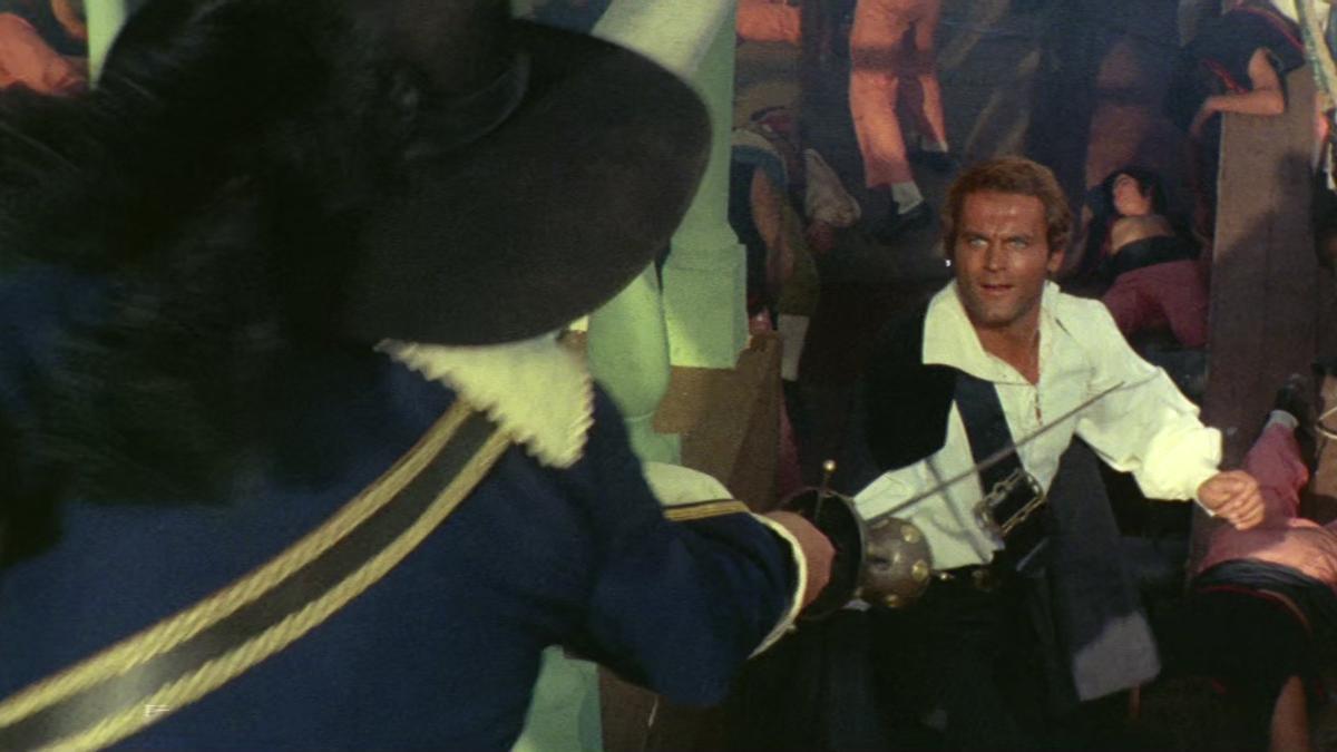 Terence Hill y Bud Spencer protagonizaron una adaptación fílmica de 'El corsario negro' en 1971