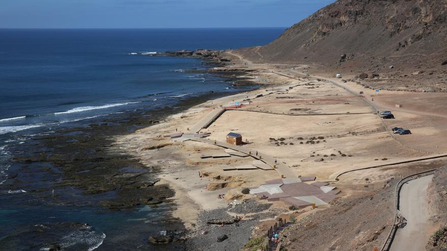 Vistas de El Confital desde La Isleta.
