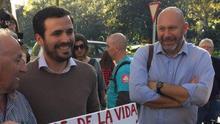Alberto Garzón y Ricardo Sixto han compartido bancada en IU esta legislatura