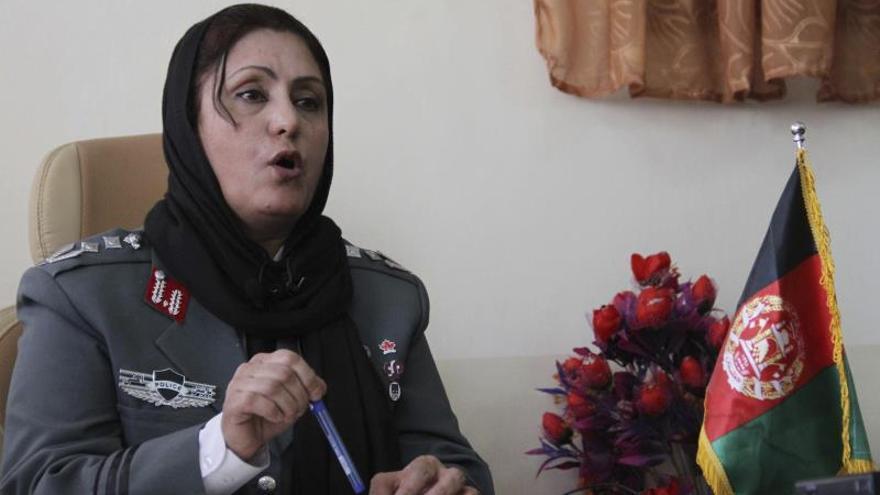 Afganistán nombra a su primera jefa de Policía