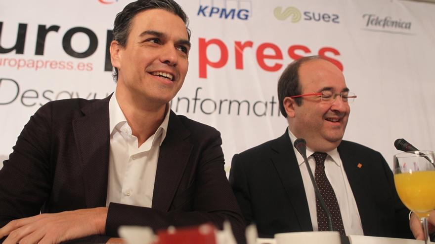 Iceta hará una campaña presidencialista con apoyo del PSOE y Borrell