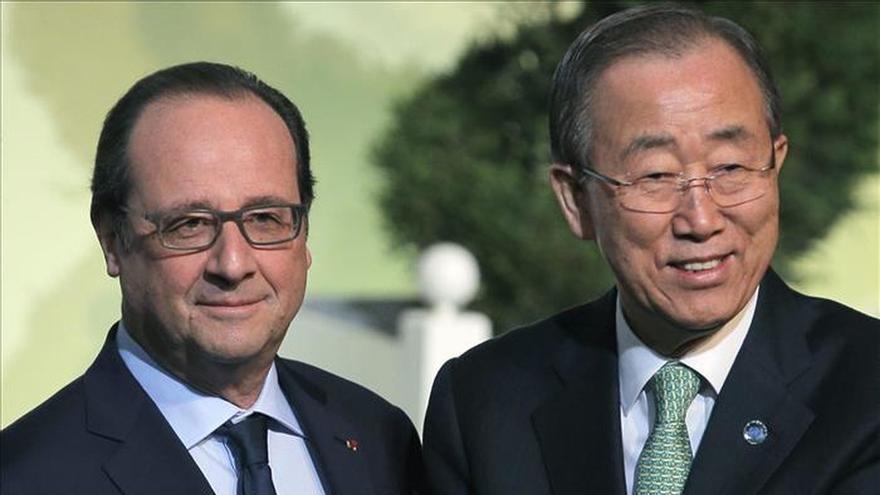 Los jefes de Estado y de Gobierno llegan a la cumbre del clima de París