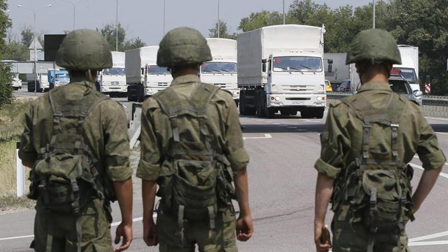 Rusia denuncia la detención de dos militares rusos por Ucrania