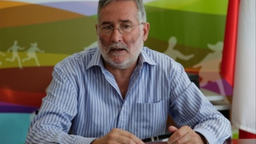 El secretario de Política Institucional y Coordinación del PSC-PSOE, Ramón Ruiz.