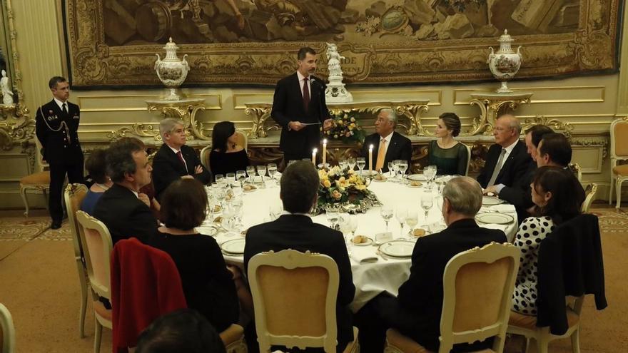 Diputados portugueses de izquierda evitan aplaudir el discurso de Felipe VI en su Asamblea