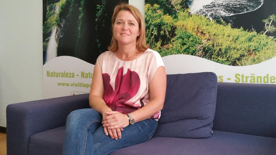Alicia Vanoostende es consejera de Turismo del Cabildo. Foto: LUZ RODRÍGUEZ
