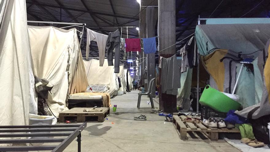 Campo de refugiados de Soflez, en Salónica (Grecia. | A. D.