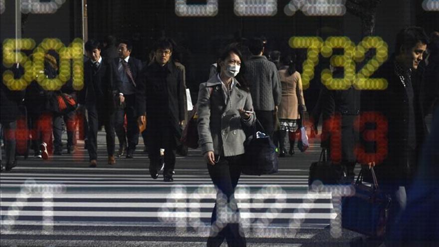 El Nikkei sube un 0,45 por ciento hasta los 19.068,54 puntos