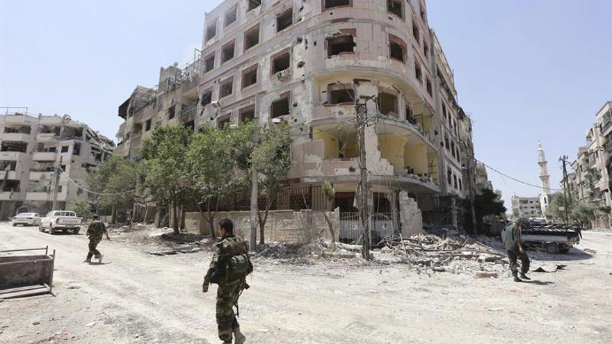 El Ejército sirio anuncia la prolongación de la tregua parcial en la periferia de Damasco
