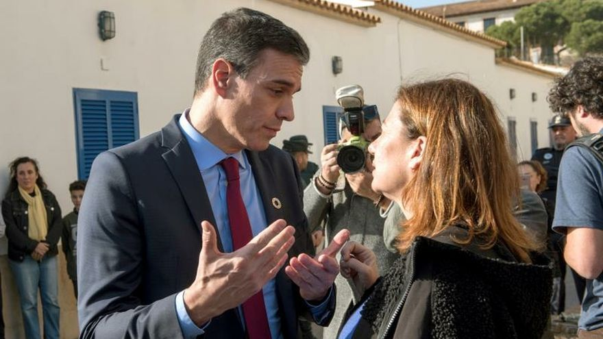 Moncloa niega que Sánchez usase un helicóptero que buscaba un desaparecido