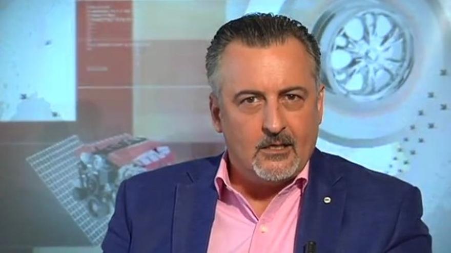 El periodista Pepe Carvallo (FOTOGRAMA DE LA TV CANARIA)