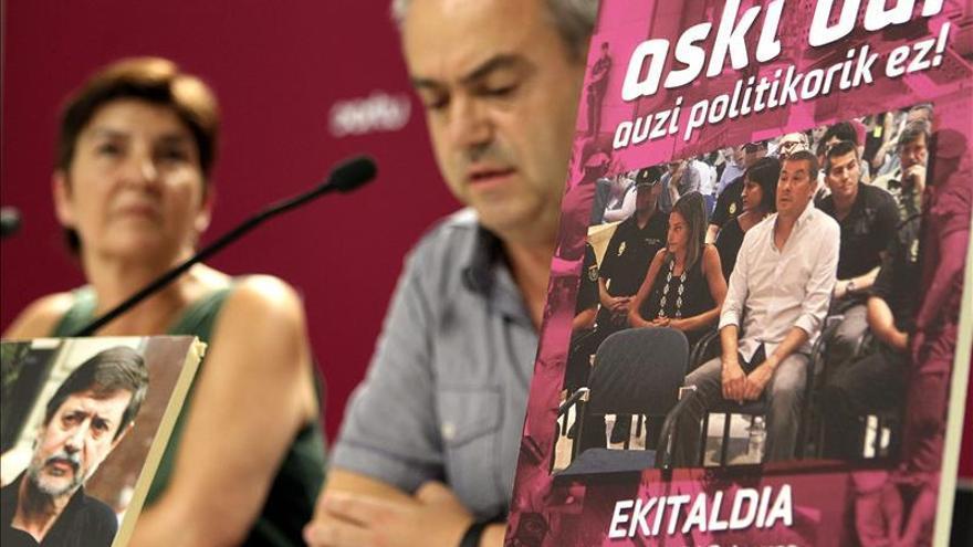 """Sortu espera que el TEDH """"enmiende"""" el fallo del Constitucional sobre Otegi"""