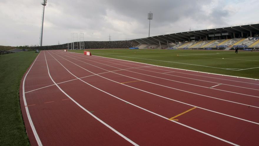 Estadio de Tíncer, donde tendrían lugar los Iberoamericanos de Atletismo.