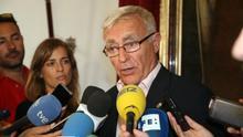 """Ribó: """"Rajoy no puede seguir blindando a Barberá en el Senado, debe cambiarla"""""""