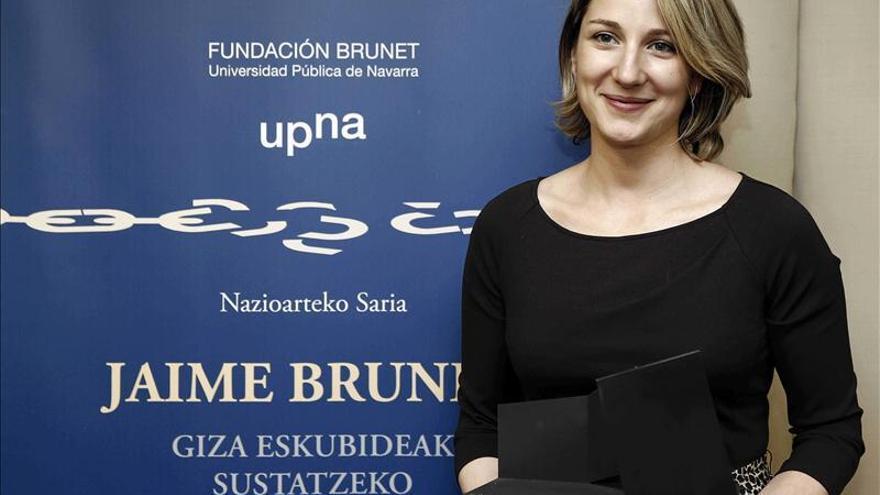 Cruz Roja recibe el Premio Internacional Jaime Brunet pro Derechos Humanos