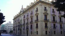 El Palacio de Justicia de València, sede del TSJ.