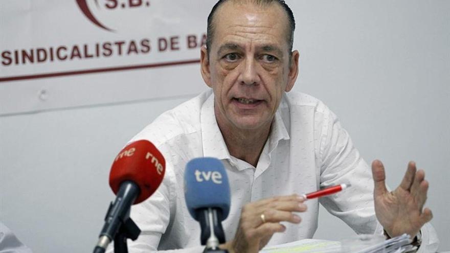 Manuel Fitas, en la rueda de prensa de este martes, en Santa Cruz