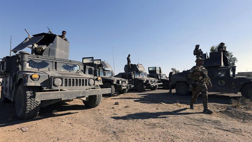 Fuerzas iraquíes irrumpen en una importante localidad al sur de Mosul