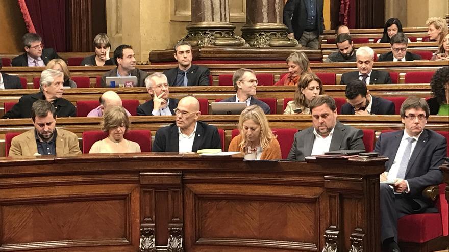 """Puigdemont dice que Interior tuvo incidencia """"cero"""" en la orden de detención de Venturós"""