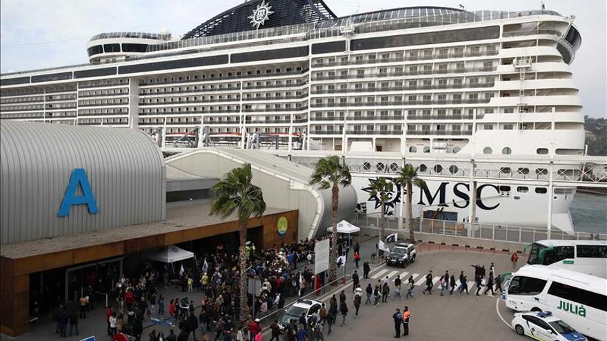 España supera los 6 millones de cruceristas hasta septiembre, un 12 % más