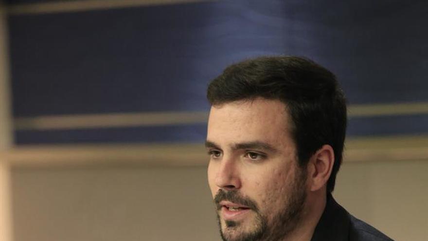 Garzón niega estar negociando con Iglesias una posible alianza electoral