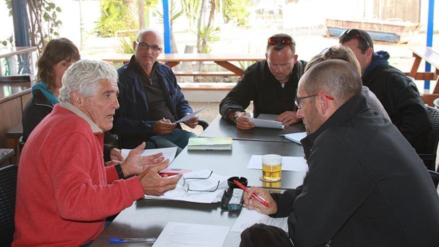 Reunión de la Asociación de empresas de turismo medioambiental de Lanzarote.