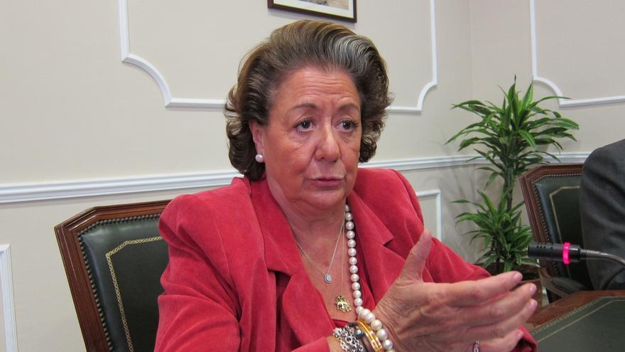 Rita Barberá, alcaldesa en funciones de Valencia