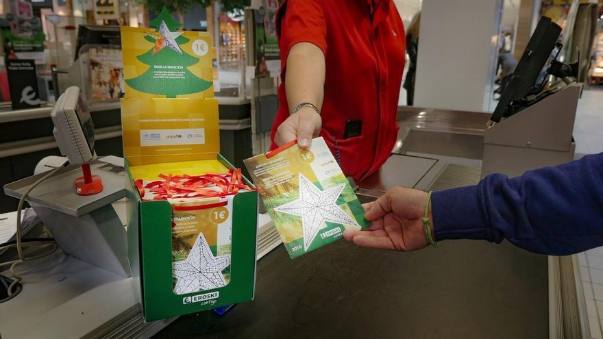 La campaña 'Estrellas Solidarias' de Eroski supera ya los 50.000 euros de recaudación