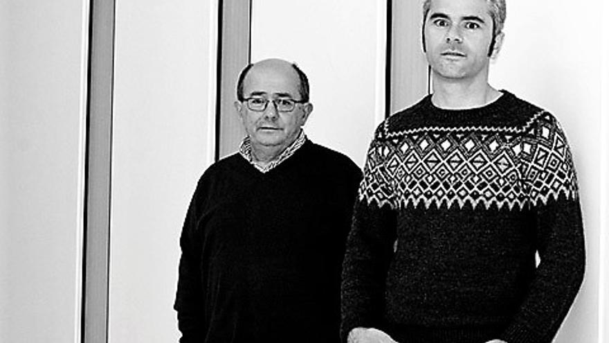 Ander Gurrutxaga (izquierda) y Auxkin Galarraga.