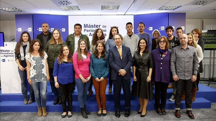 Inaugurada la XV edición del Máster de Periodismo de la Agencia EFE-URJC